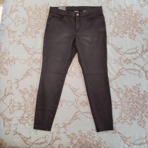 J. Jill Denim Black Wash Leggings Size 12 NWT
